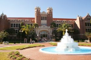 Photo of front of Florida State University